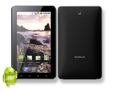 Harga dan Spesifikasi Tablet Cyrus Atompad 16 G