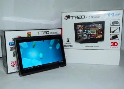Harga dan Spesifikasi Tablet TREQ A10B2-4GB Basic 2