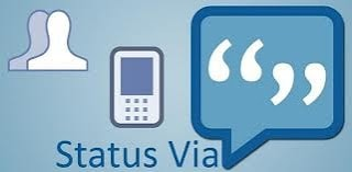 Cara Update Status Facebook via BlackBerry