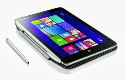 Lenovo Mengenalkan Tablet 8 inci dengan Windows 8.1