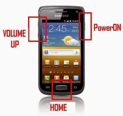 Cara Root HP Samsung Galaxy W (I8150)