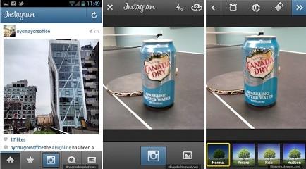 Menggunakan Aplikasi Instagram