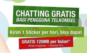 Gratis Chatting Telkomsel dan WeChat