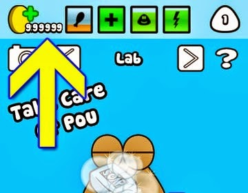 cara cheat game pou unlimited coins