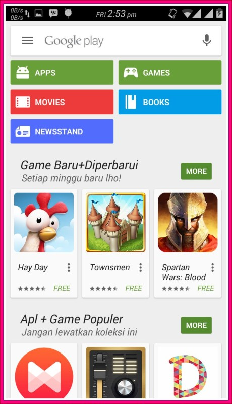 aplikasi google play store android