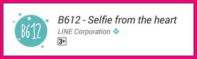 b612 aplikasi selfie android