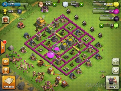 Clash of Clans Th 3