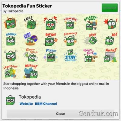 free bbm stickers