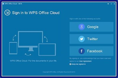 wps office cloud