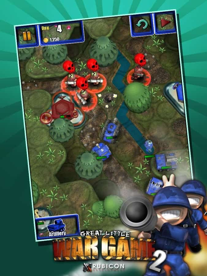 penggunaan cheat engine pada game android great little war game