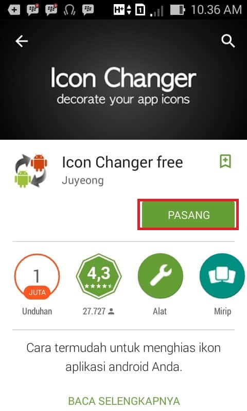 aplikasi icon changer free android