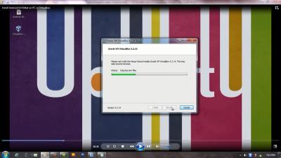 instal virtualbox di komputer
