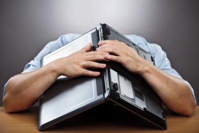 mencegah laptop rusak