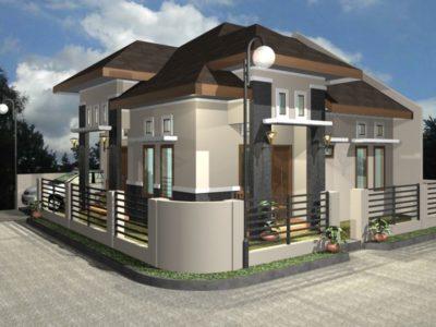 Desain Pagar Rumah Minimalis 2017
