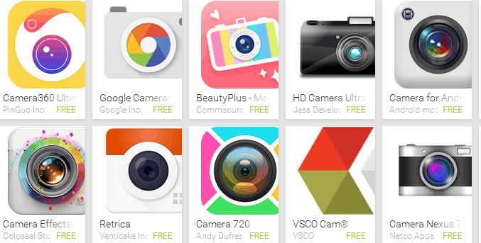3 Aplikasi Kamera Selfie Terbaik 2017