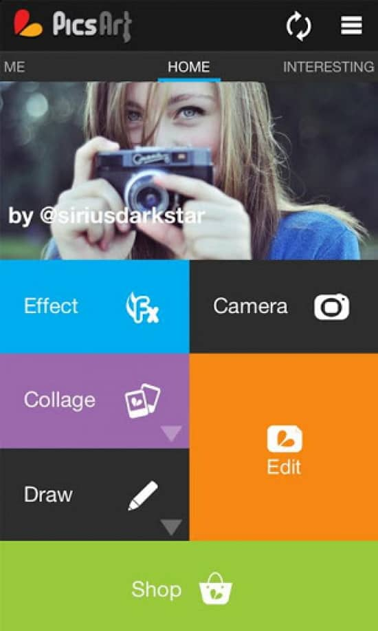 PicsArt Aplikasi Edit Background Foto Terpopuler