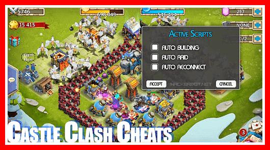 cheat castle clash