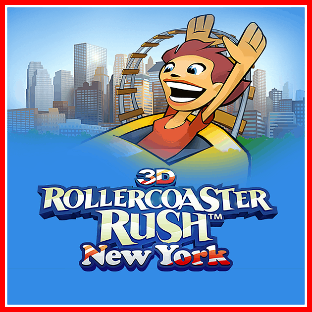 game hd android 3D Rollercoaster Rush NewYork