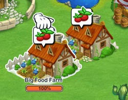 Food Farm Houses dragon city