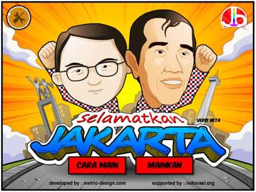 Game Selamatkan Jakarta