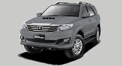 Toyota Fortuner VNTurbo Dark Grey Mica Metallic