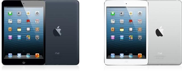 pilihan warna ipad mini hitam, slate, putih, silver