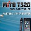 Spesifikasi dan Harga Mito t520 tablet dual core murah