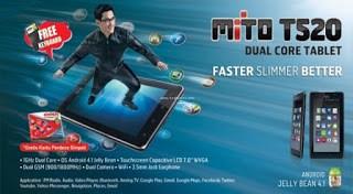 Tablet Mito t520 bukan Mito t250