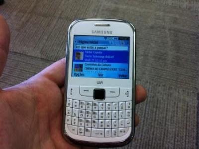 Harga dan spesifikasi Samsung Ch@t 322