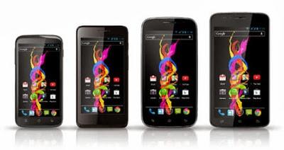 Archos Meluncurkan Baris Terbaru Smartphone Titanium