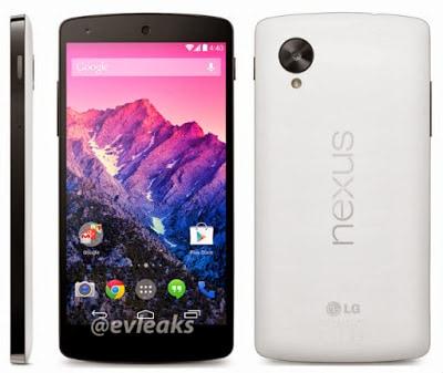 Nexus 5 Muncul Di Internet dengan Tanggal Rilis