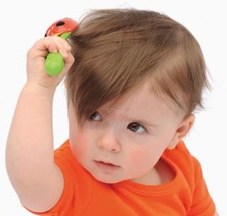 Tips Alami Melebatkan Rambut Bayi
