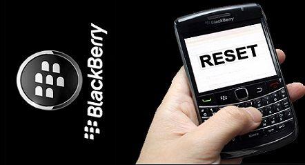 Cara Reset Blackberry dengan Mudah