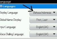 Menambahkan Bahasa Indonesia di BlackBerry