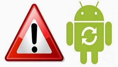 Android Restart Saat Membuka Aplikasi