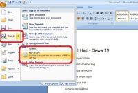File PDF dengan Microsoft Word