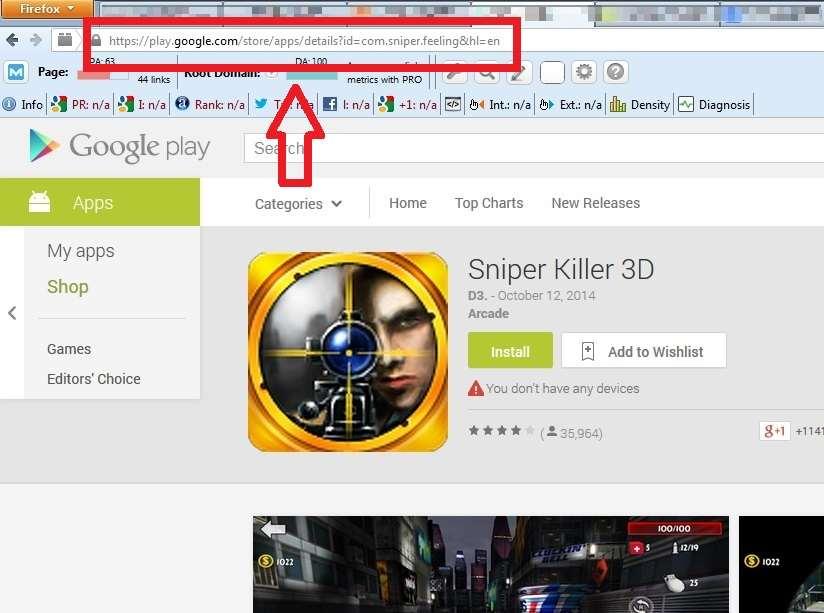 Cari apk di google play store