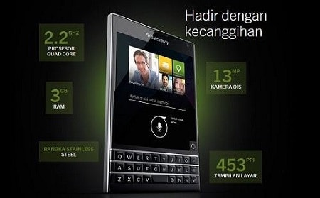 Harga Blackberry Passport