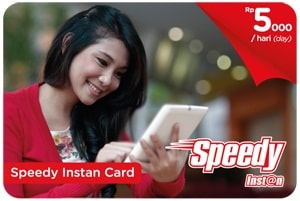 Nonton Film Gratis, Setiap Pembelian Speedy Instan Card