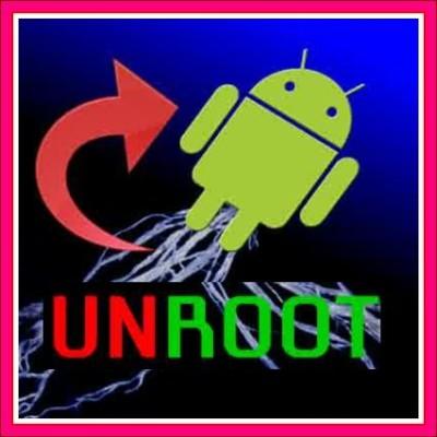 cara unroot android tanpa pc