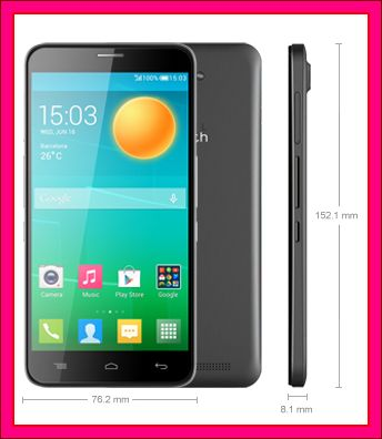 smarphone android harga 2 jutaan alcatel Onetouch Flash