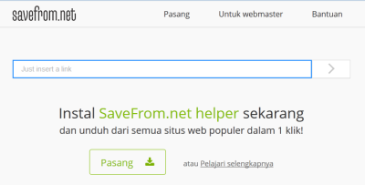 download video youtube di android savefrom