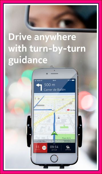 fitur voice guided here maps aplikasi map offline android