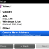 Cara Mengatur Alamat Email Blackberry Internet Service