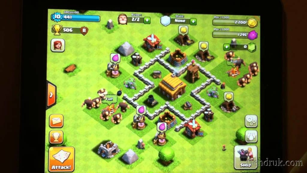 clash of Clans Town Hall 3