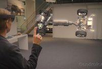 kacamata pintar Microsoft HoloLens
