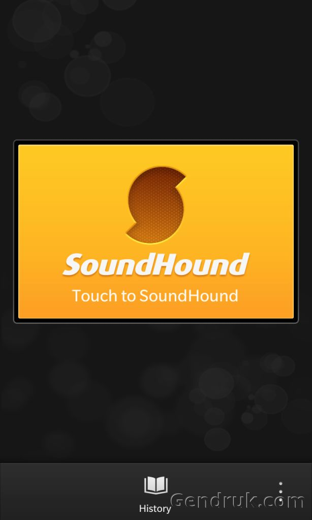 SoundHound blackberry