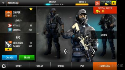 game tembak fps android D-Day android