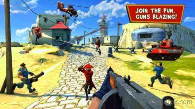 game tembak android terbaik Blitz Brigade