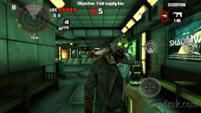 game tembak android Dead Trigger android